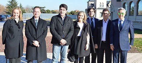 Inauguración del Centro de Apoyo a la Familia de Alcorcón