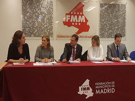 Presentación del Informe de Políticas Familiares en la Federación de Municipios de Madrid