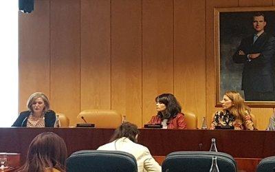 Comparecencia ante la Comisión de Políticas Sociales y Familia, Asamblea de Madrid