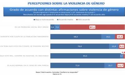 Un 27'4% de los y las jóvenes cree que la violencia de género es una conducta normal en la pareja