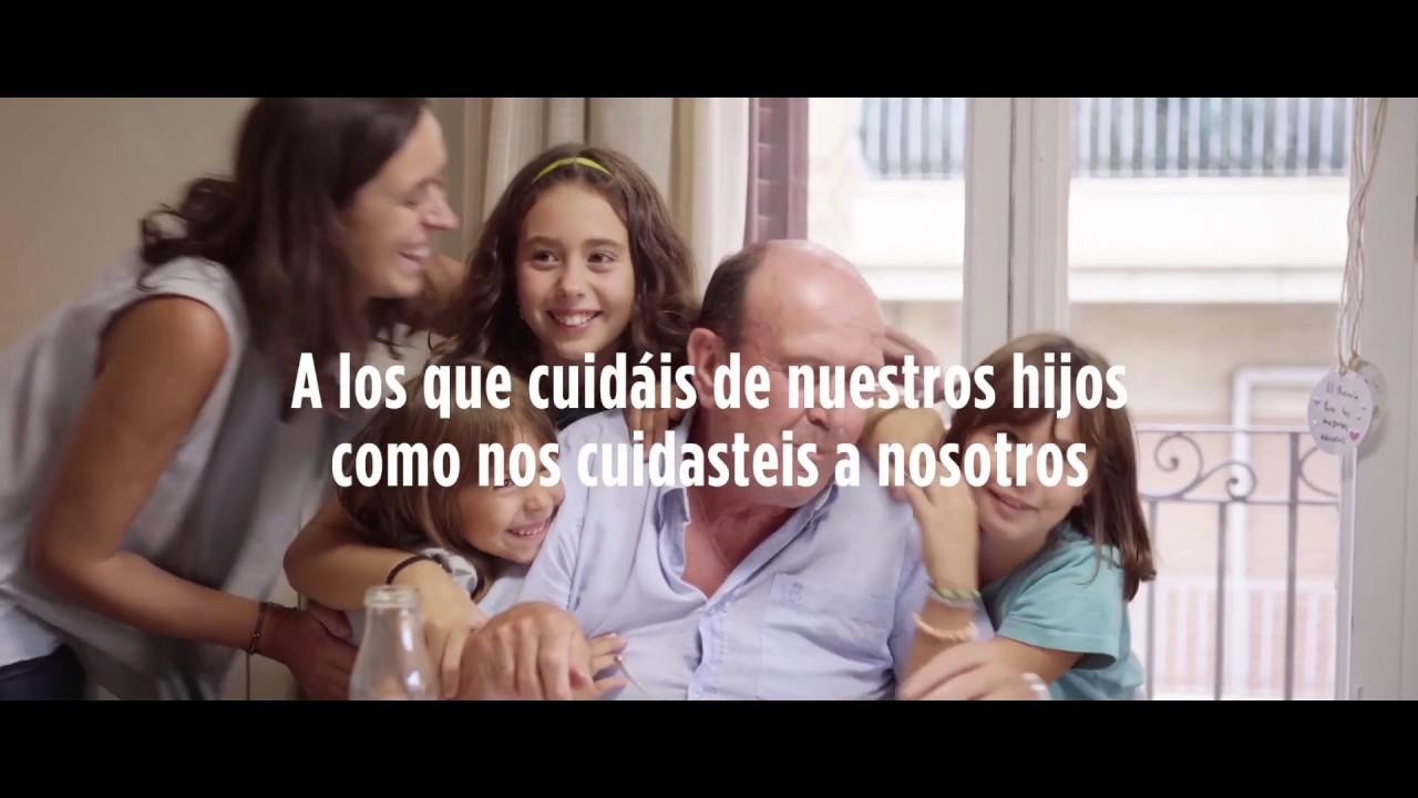 Abuelos: #GraciasPorCuidarles