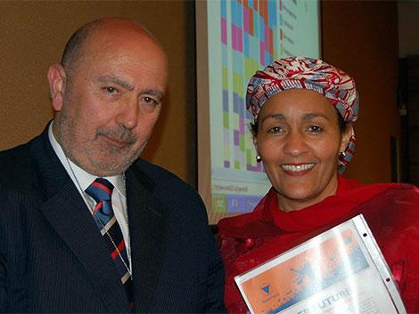 Delegada especial del Secretario General de NNUU, Amina J. Mohammed