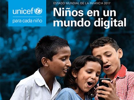 Estado Mundial de la Infancia 2017: niños en un mundo digital