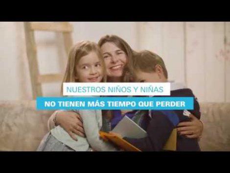 Campaña de Unicef  #PorlaConciliaciónReal