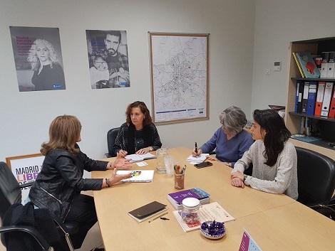 Reunión con la Directora General de Infancia del Ayuntamiento de Madrid