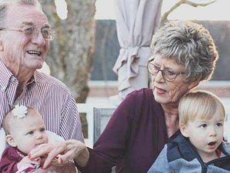 Seis familias, galardonadas por el Día de los Abuelos