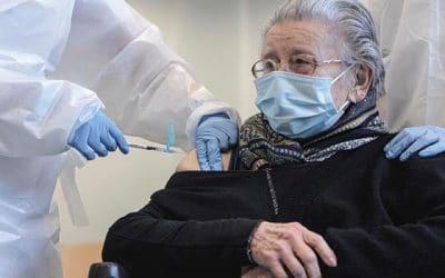Tantas vacunas como mayores