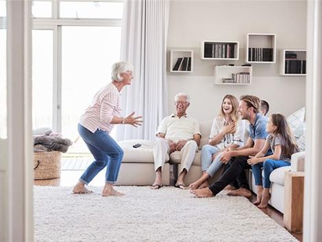 Los beneficios de la convivencia intergeneracional
