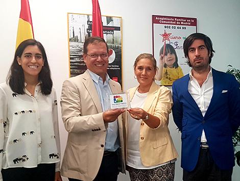 Reconocimiento al Director General de la Familia y el Menor de la Comunidad de Madrid.