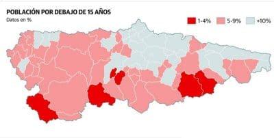 Asturias, a un año de bajar del millón de habitantes tras recaer la natalidad