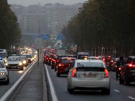 Por qué siempre que llueve hay atasco en Madrid