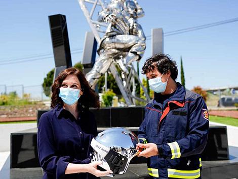 Díaz Ayuso: «Queremos que el uso de mascarillas sea obligatorio en todos los lugares públicos»