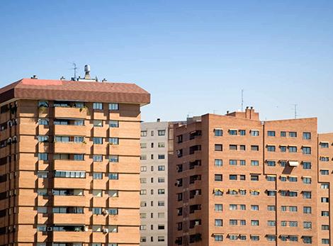 Los millennials sólo pueden alquilar sin compartir en Extremadura y Castilla-La Mancha