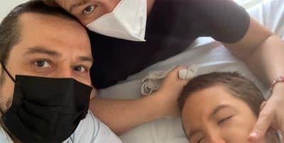 Bruno, uno de los tres niños con daño cerebral sobrevenido que participan en un ensayo pionero