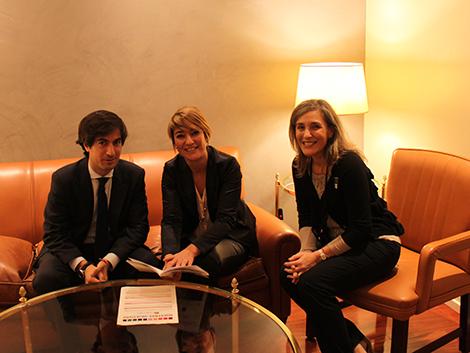 Reunión con Grup Parlamentari Català (CiU)