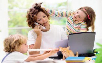 El 53% de las madres que emprenden lo hace para conseguir una mejor conciliación familiar