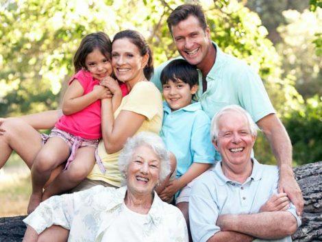 Familias, estados minúsculos