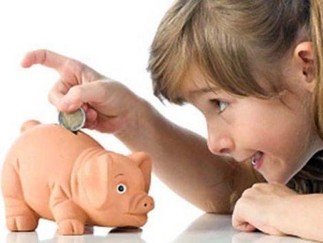 ¿Se debe dar paga a los niños?