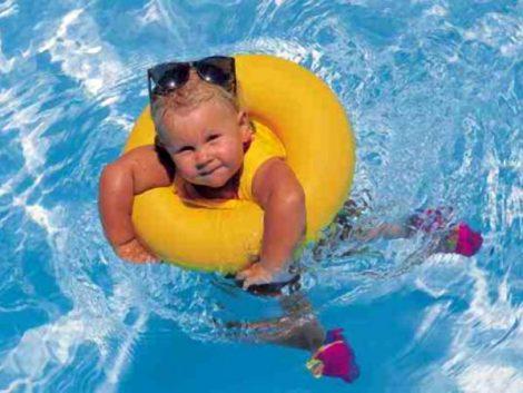 Niños, verano y sol: con todas las precauciones posibles