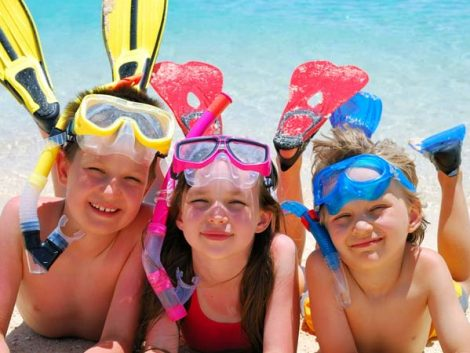 Consigue que tus hijos aprovechen las vacaciones