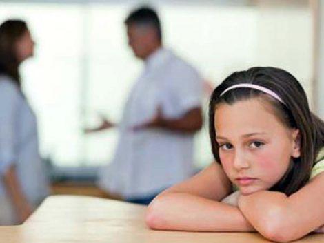 Los padres no se divorcian de sus hijos