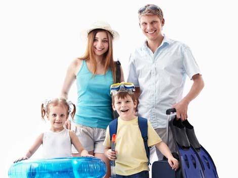 Cómo organizar unas buenas vacaciones en familia