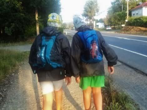 Cómo hacer el Camino de Santiago con niños
