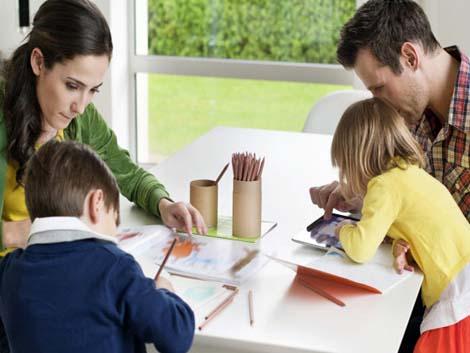 Los cinco hábitos que hacen que una familia funcione (y sea feliz)