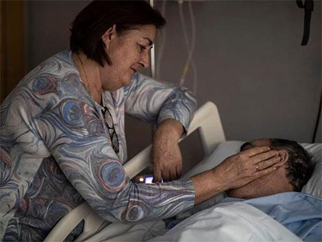 """Cuidados paliativos: """"Esta fase es reencontrarse con tu compañero de viaje"""""""