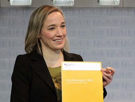 Informe sobre la familia (en Alemania) 2012
