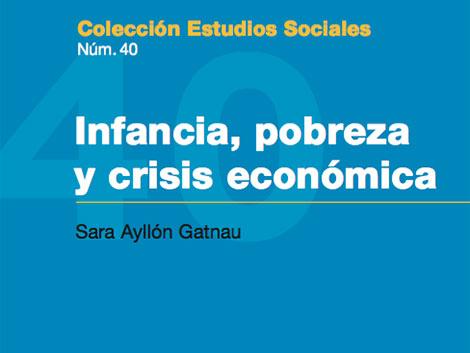 Infancia, pobreza y crisis económica