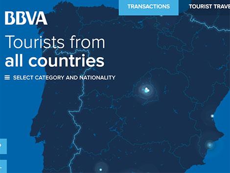 Radiografía de gasto de los turistas extranjeros en España