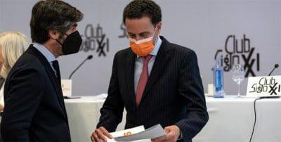 Almuerzo con el candidato de Ciudadanos a la Comunidad de Madrid