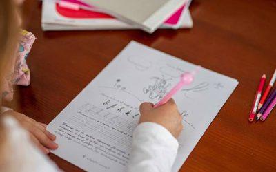 ¿Para qué sirve escribir a mano?