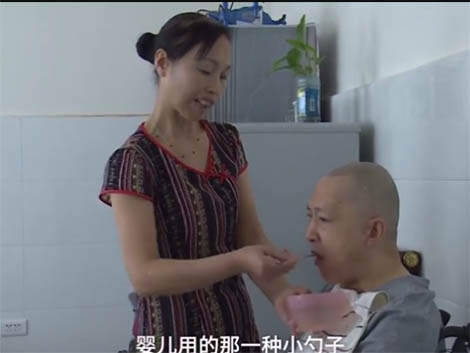 The power of true love: Chinese man wakes up from a five-year coma after his devoted wife nursed him more than 20 hours a day every day