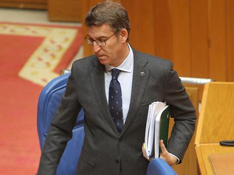 Feijóo invita al resto de partidos a pactar una ley favorable al impulso demográfico