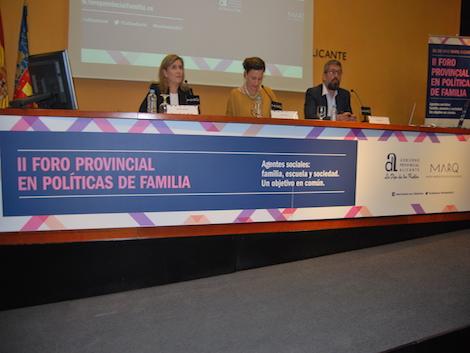 II Foro Provincial de Políticas de Familia en Alicante