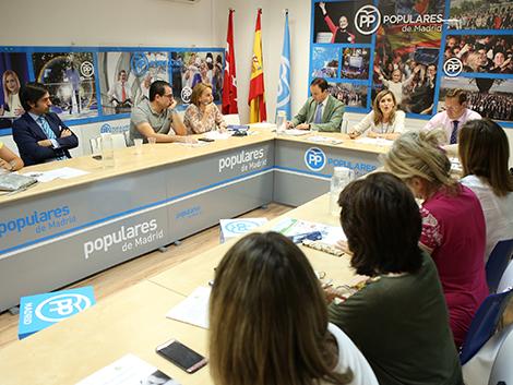Participación en el  «Foro Familia y Menor» del Partido Popular de Madrid.