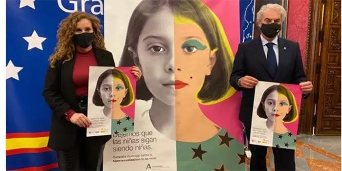 El Ayuntamiento de Granada lanza una campaña contra la hipersexualización de las niñas