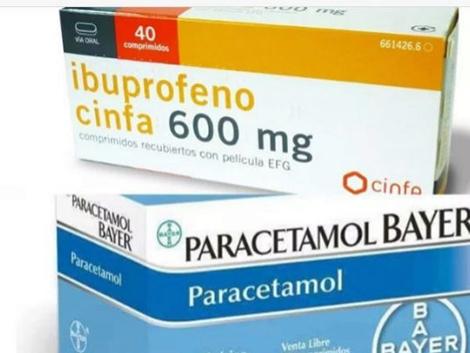 El ibuprofeno de 600 mg y el paracetamol de 1 gr habrá que comprarlos con receta