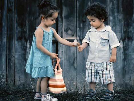 The imaginary worlds of children reflect positive creativity