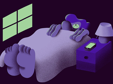 ¿Son las tres de la mañana y no puedes dormir? No veas tu teléfono
