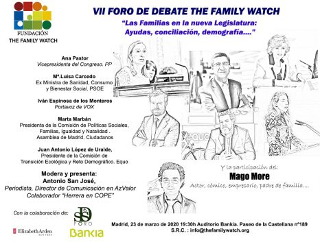 VII Foro de Debate TFW (retrasado a causa de la Pandemia de Covid)