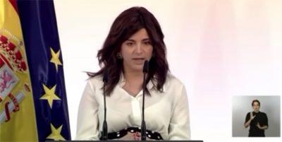 El discurso de Ana Iris Simón ante Pedro Sánchez que está dando la vuelta a España