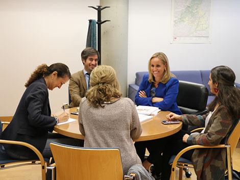 Reunión con el PP en la Asamblea de Madrid