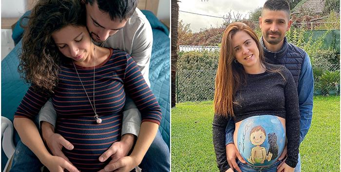 Tener un bebé durante una pandemia, contado por padres de Pontevedra y Vigo