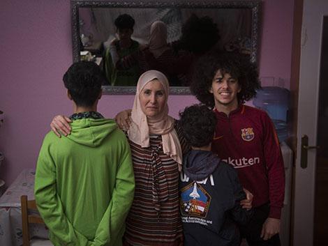 La pobreza contada en cuatro familias con niños
