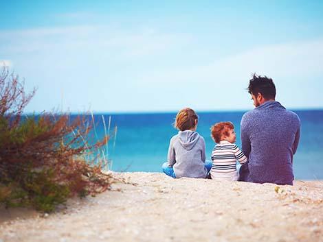 Si eres madre o padre soltero, estas son tus vacaciones