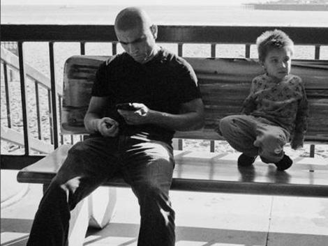 Padres y madres: no sin su móvil