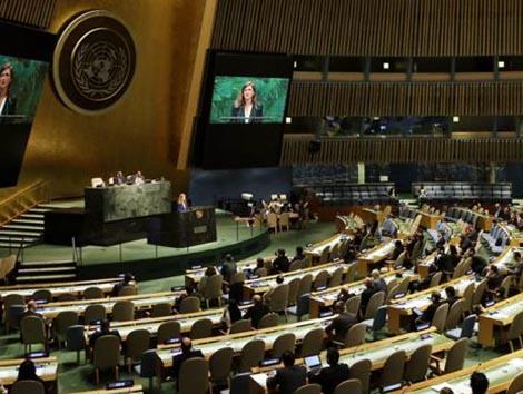 La Fundación Promoción Social presenta en la ONU el estudio «¿Existe penalización por maternidad?»